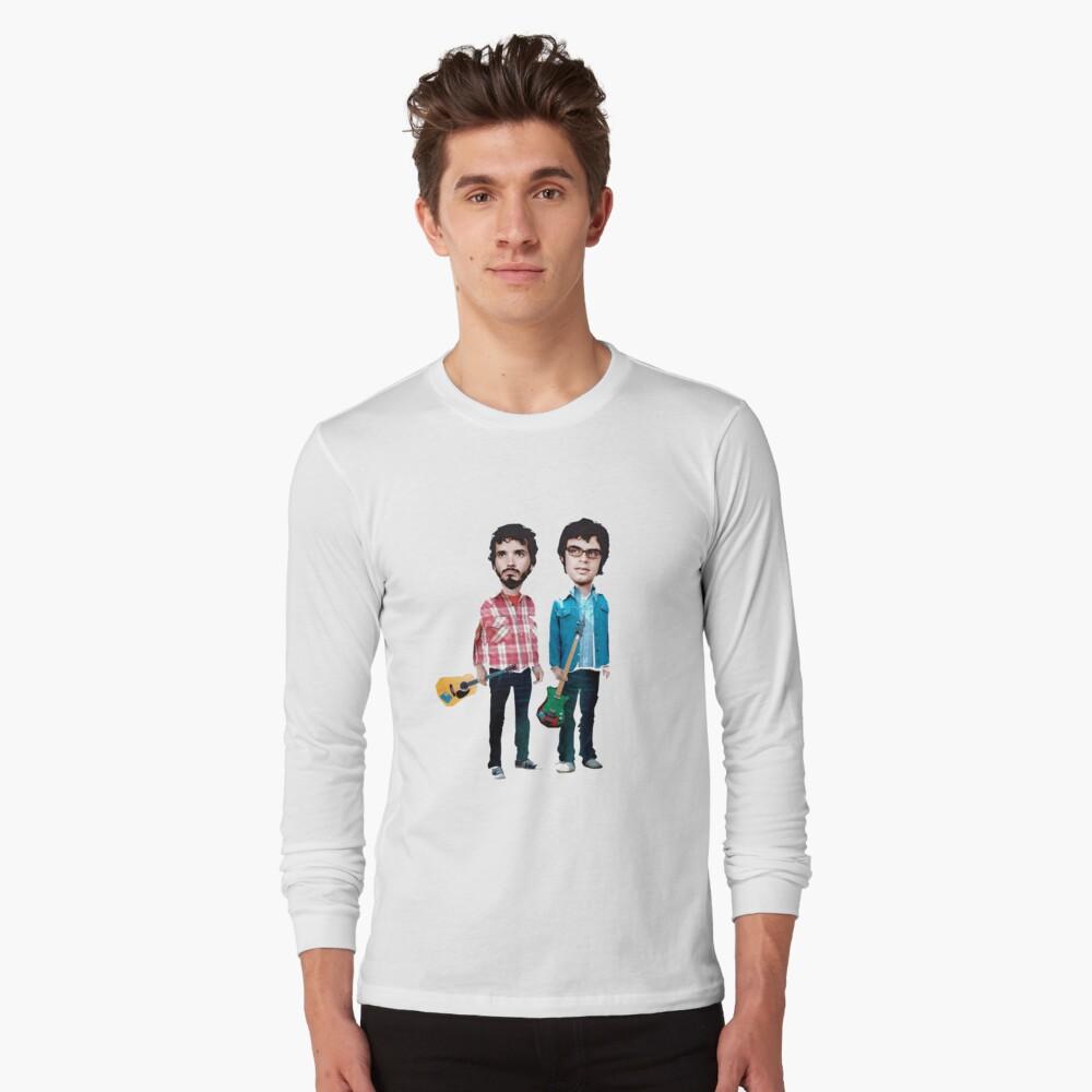 Vuelo de los Conchords Camiseta de manga larga