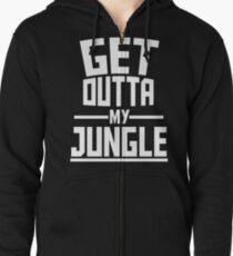 Get Outta My Jungle v2 Zipped Hoodie