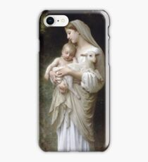 Innocence by William Bouguereau iPhone Case/Skin
