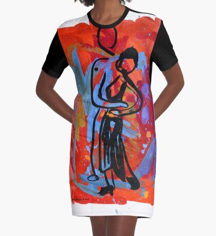 Tango 3 Graphic T-Shirt Dress