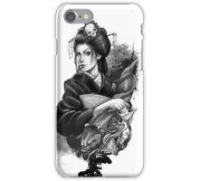 Geisha Tattoo iPhone Case/Skin