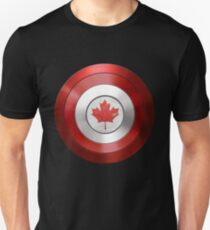 CAPTAIN CANADA - Captain America inspired Canadian shield T-Shirt
