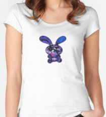 Flower Bunny Women's Fitted Scoop T-Shirt