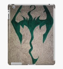 The skyrim doodle iPad Case/Skin