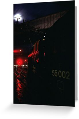 A Deltic returning to York by Doppelbock