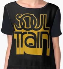 SOUL TRAIN (YELLOW) Women's Chiffon Top