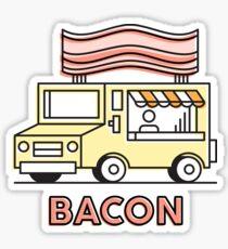 Food Trucks - Bacon Sticker