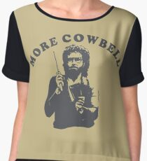 WILL FERRELL - MORE COWBELL Women's Chiffon Top