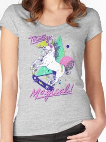 Totally Magical Women's Fitted Scoop T-Shirt