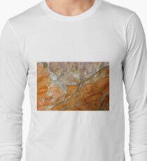 hot slate Long Sleeve T-Shirt
