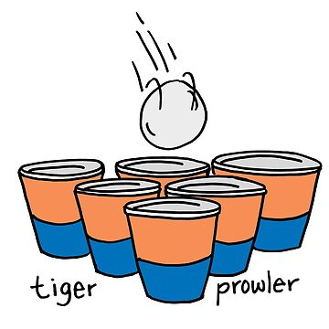 Beer Pong Auburn Tiger Prowler by Statepallets
