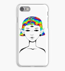 Out Of This World Collection - Alien Acid iPhone Case/Skin