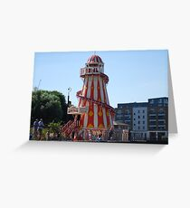 Helter Skelter near Greenwich Greeting Card