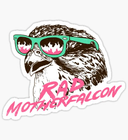 Motherfalcon Sticker