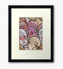 UTENSIL FREAKS Framed Print
