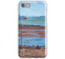 Fawley power station from Weston Shore Hampshire iPhone Case/Skin