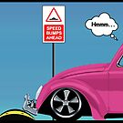 Speed bumps! (pink) by MrDeath