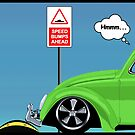 Speed bumps! (green) by MrDeath
