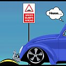 Speed bumps! (blue) by MrDeath