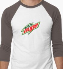 Mountain Dude Reloaded Men's Baseball ¾ T-Shirt