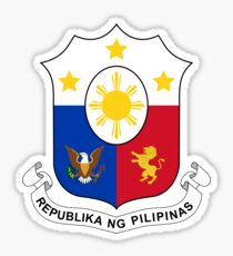 Philippines Coat of Arms Sticker