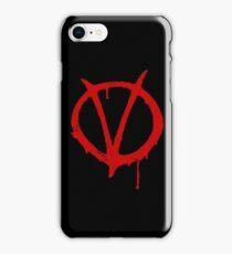 V for Vendetta Vintage Symbol iPhone Case/Skin