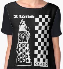 Two Tone Dalek Chiffon Top