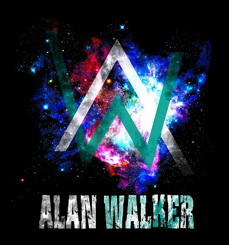 Alan walker design illustration photographic prints redbubble - Alan walker logo galaxy ...