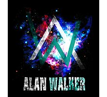 Alan walker photographic prints redbubble - Alan walker logo galaxy ...