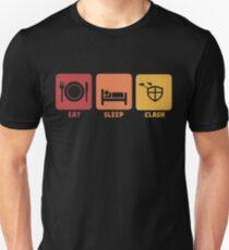 Eat Sleep Clash Unisex T-Shirt