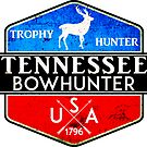 TENNESSEE BOWHUNTER BOW HUNTER DEER HUNTING TROPHY by MyHandmadeSigns