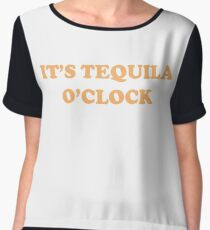 It's Tequila O'Clock Chiffon Top