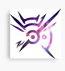 Dishonored Symbol (Galaxy) Canvas Print