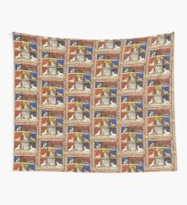 Medieval Animal Bestiary Wall Tapestry