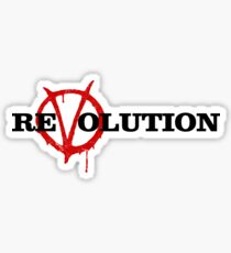 ReVolution V for Vendetta Sticker