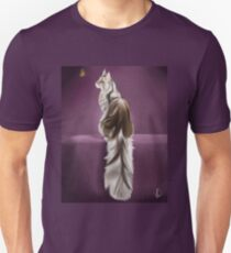 Cat and Butterfly Slim Fit T-Shirt