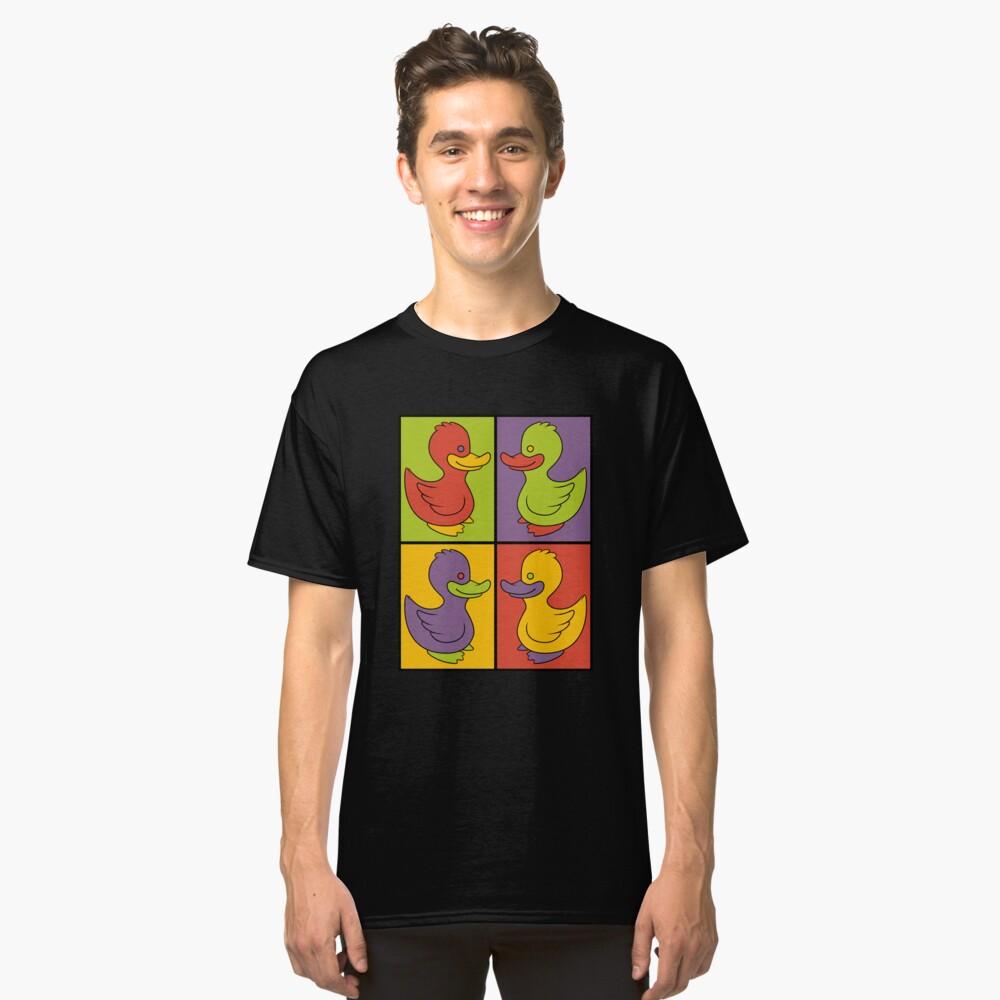 Pop Art Love Ducks Classic T-Shirt