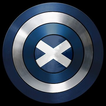 CAPTAIN SCOTLAND - Captain America inspired Scottish shield by infrablue