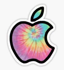 Tie-Dye Apple Logo Sticker