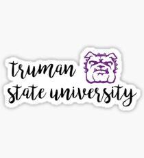 Truman State Univeristy Sticker