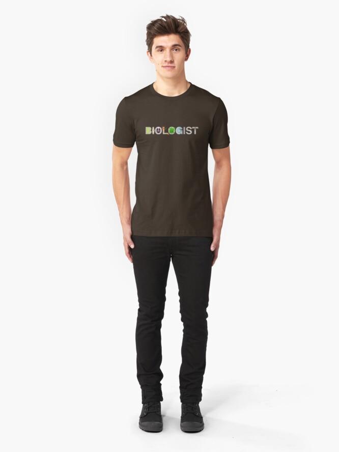 Alternate view of Biologist  Slim Fit T-Shirt