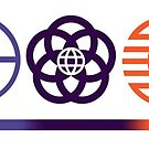 EPCOT Center Retro Future World Pavilion Logos by EPCOTJosh