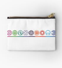 EPCOT Center Retro Future World Pavilion Logos Studio Pouch