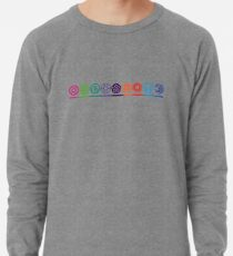 EPCOT Center Retro Future World Pavilion Logos Lightweight Sweatshirt