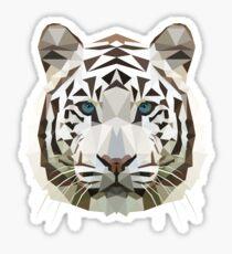 weißer Tiger Sticker