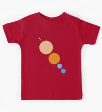 Planets To Scale (diagonal) Kids Clothes