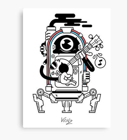 JukeBot Canvas Print