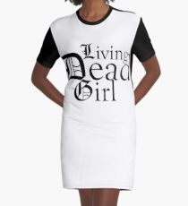Living Dead Girl Graphic T-Shirt Dress