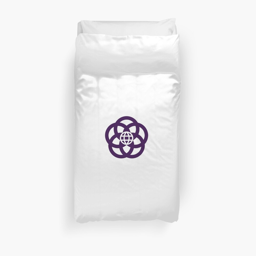Epcot Center Logo - EPCOT Center Duvet Cover