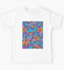 Retro Trendy Floral Pattern Kids Clothes